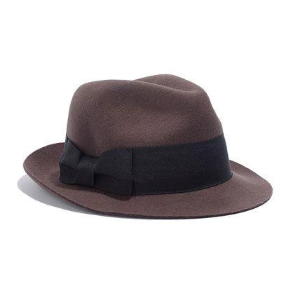 Biltmore® Felt Fedora. Next hat.