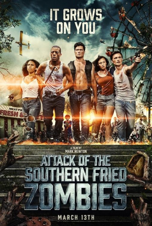 Attack Of The Southern Fried Zombies Zombie Film Baru Pilot