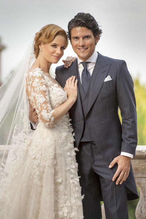 Nobility weddings on pinterest archduke religious for Julian alexander wedding dresses