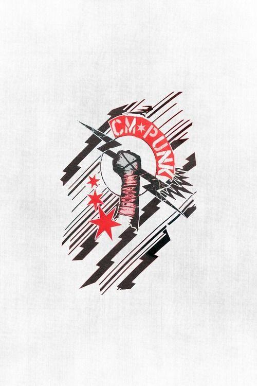 Cm punk punk and logos on pinterest - Cm punk logo images ...