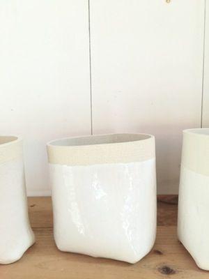 Image of Soft White Vase (choice of three)