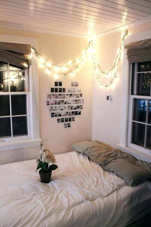 White Lights In Bedroom Ideas With Images Christmas Lights In