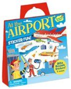 Fun reuseable stickers with travel board.