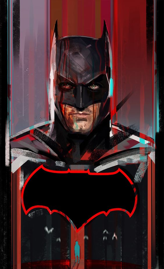 ArtStation - They Call it BATMAN DAY, the frisbeeman
