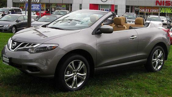 17. Nissan Murano Convertible