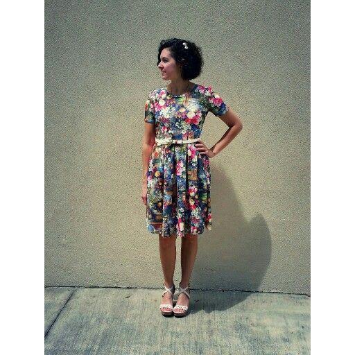 The LuLaRoe Amelia Dress is hands down my favorite dress.