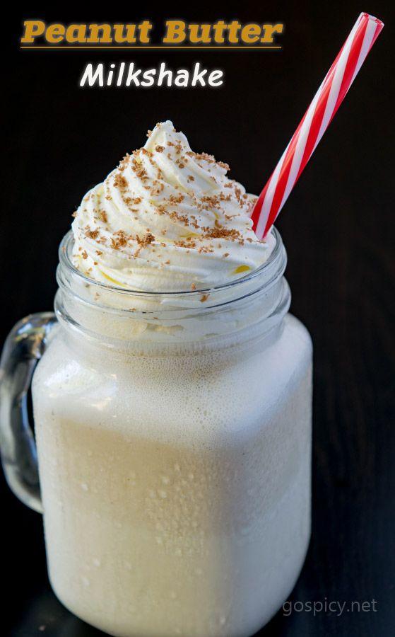 Peanut Butter Milkshake Recipe With Homemade Peanut Butter Gospicy Recipe Peanut Butter Milkshake Peanut Butter Milkshake Recipe Homemade Peanut Butter