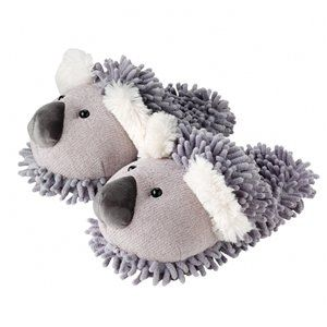 Aroma Home Women's Fuzzy Koala Slippers