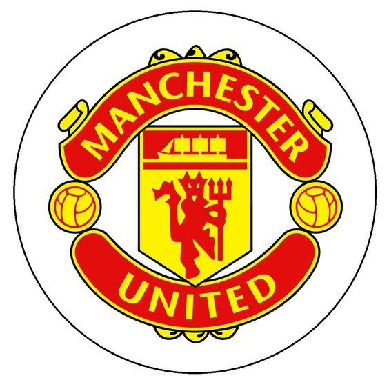 Manchester United Badge Cake Topper