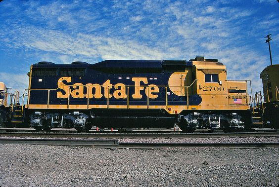 Santa Fe GP30 No. 2700, One More Time, For Good Measure - August 1992.