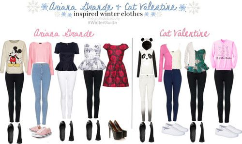 cat valentine inspired outfits