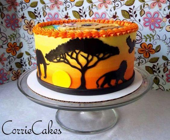 Pumba Cake: Simba Cakes