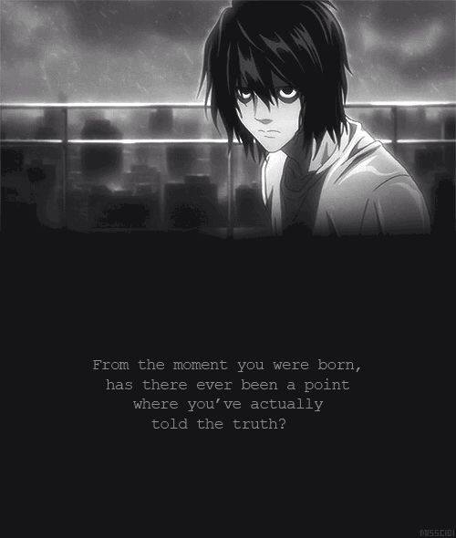 Sad Quotes About Death: Death Note, Death And Note On Pinterest