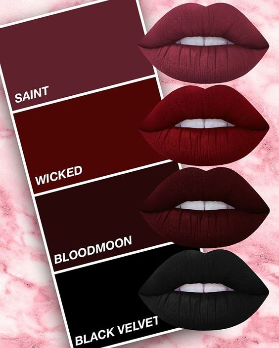 BURGUNDY IS BOSS.  Shop the shade of the season on limecrime.com!                                                                                                                                                                                 More: