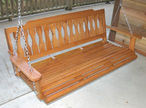 Build a Porch Swing. http://extremehowto.com/build-a-porch-swing/