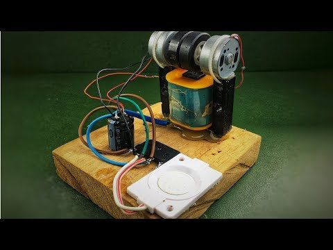 How to make electricity free energy generator using dc motor
