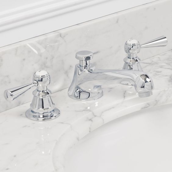 Water Creation F2-0009-05-BX Sarah Polished Nickel Two Handle ...