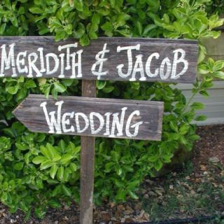 Another great idea, Tim to make and we'll add it to a pot for the reception!