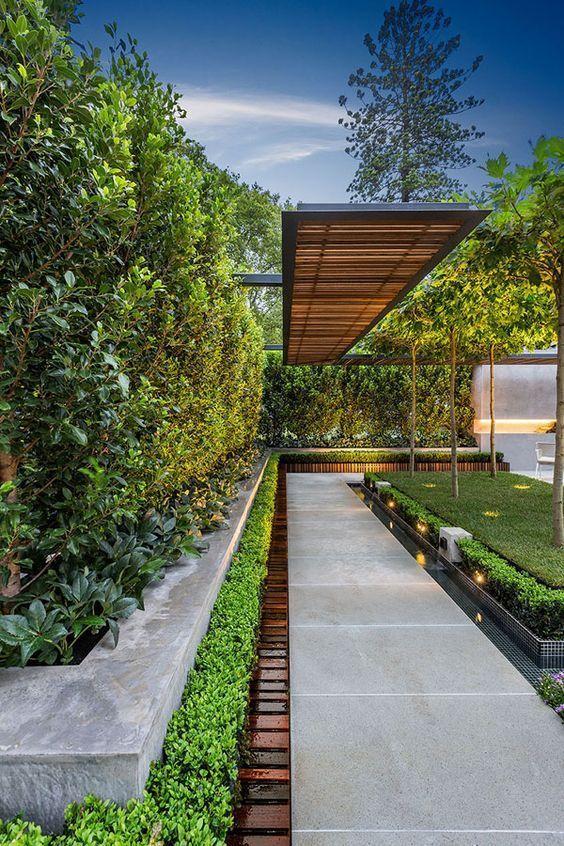 14 Ideas Of Modern Landscape Design For Living House Modern