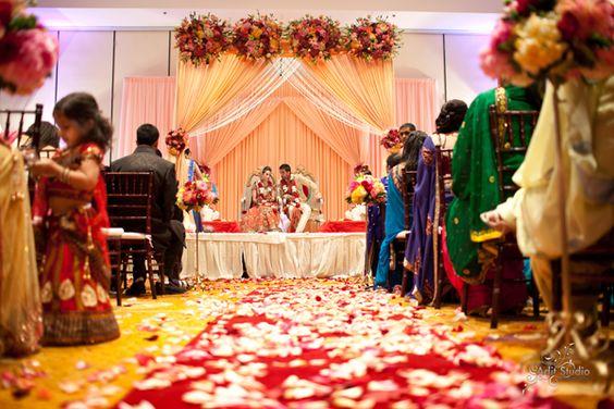 Sacramento, California Indian Wedding by Adit Studio