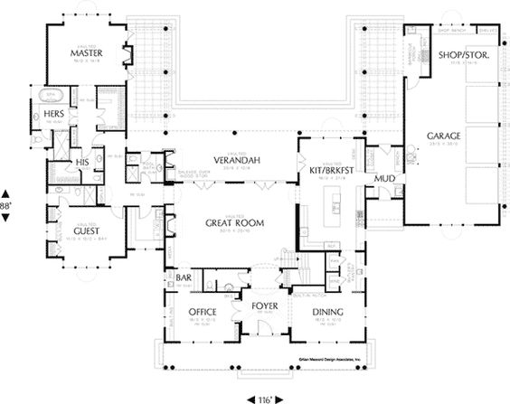 House plans cape cod and capes on pinterest for Cape cod house plans with first floor master bedroom