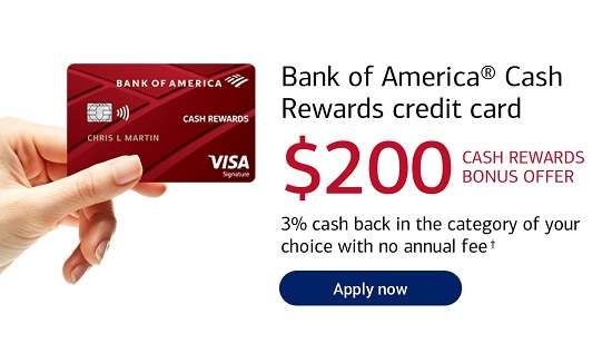 Bank Of America Cash Rewards Offer 24 Month Interest Free In 2020 Credit Card Online Credit Card Apply Cash Rewards Credit Cards