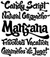 latin style font - photo #31