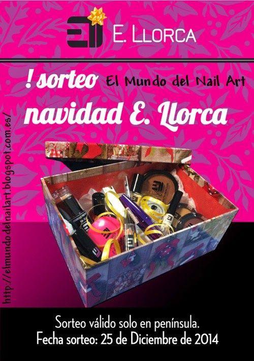 El Mundo del Nail Art: SORTEO NAVIDAD con la colaboración de Elisabeth Ll...
