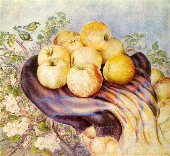 #ЦейДень Яблучний Спас - свято відоме з давньоруських часів. До Спаса не дозволялось їсти яблука і страви з яблук #РусьУкраїна
