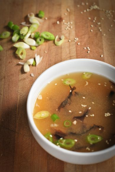 Probiotic miso soup - hearty soup for the soul