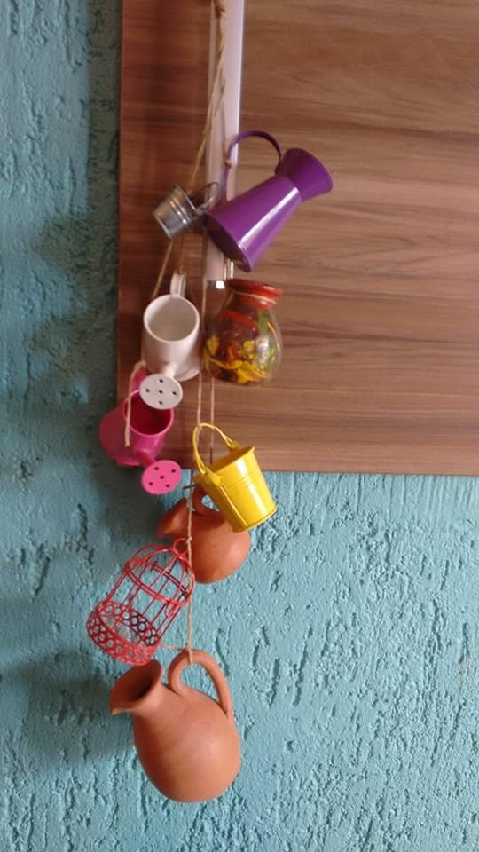 BPX design & fashionismo: Como fazer um móbile para decorar a cozinha