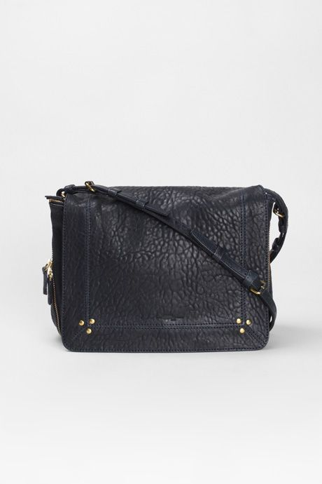 Jerome Dreyfuss | Igor Shoulder Bag - Petrol | My Chameleon