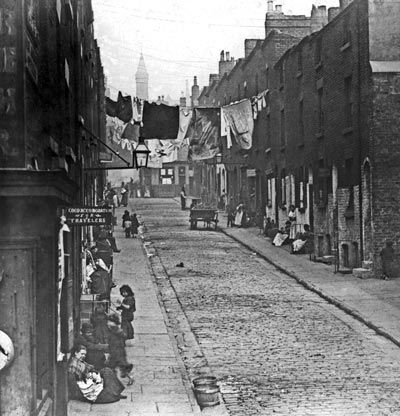 Ben Jonson Street, 1890, Liverpool