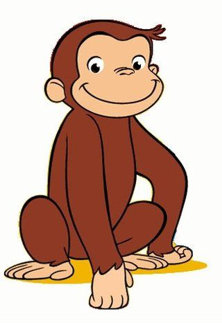 Free Printable Monkey Clip Art   Curious George Clipart - Quality ...