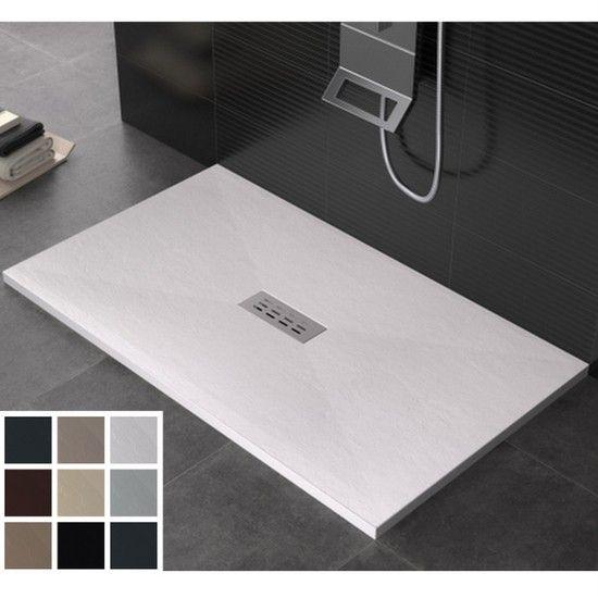 Piatto doccia marmo-resina piletta inclusa tante dimensioni ...