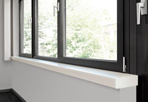 #Silestone #Fensterbänke - unkomplizierte Pflege und ein außergewöhnliches Aussehen.  http://www.silestone-deutschland.com/silestone_fensterbaenke