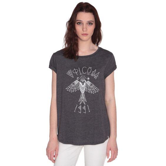 • T-shirt à manches courtes chiné• Imprimé sur le torse• Collection Spring/Summer 2016Référence : B0111656