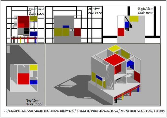 Munther Fuad Al Qutobالرسم المعماري بالحاسوب/ computer architectural drawing: