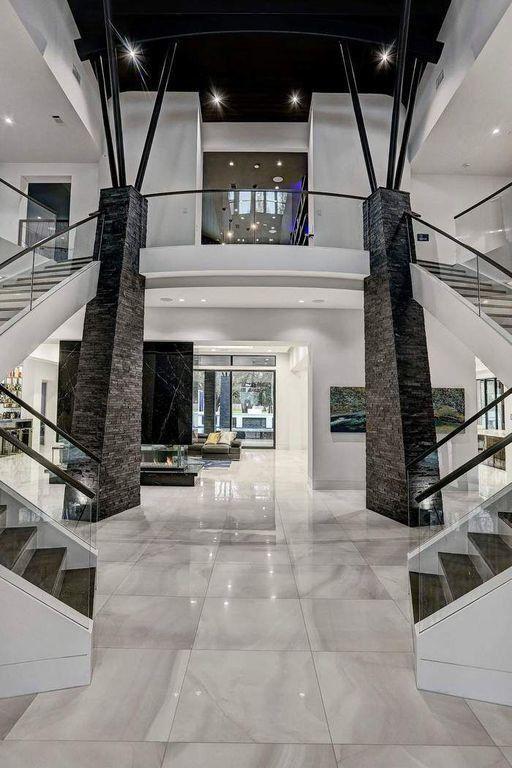 Epingle Par Natacha Balafin Sur Maison De Luxe Maison D Architecture Interieur Maison Design Maison Design