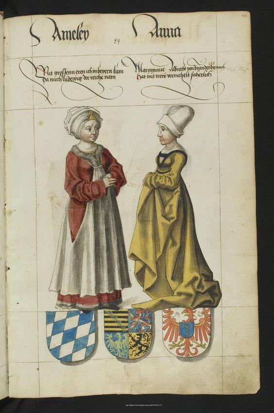 1546. Werkansicht: Das Sächsische Stammbuch - Mscr.Dresd.R.3