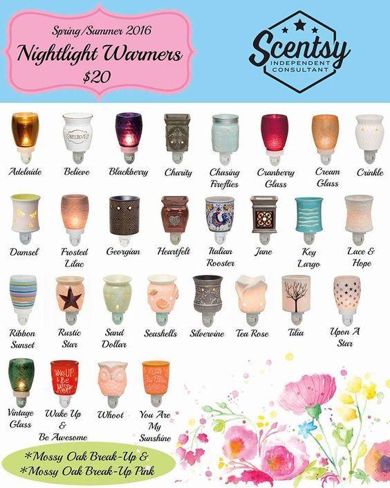Scentsy Nightlight Warmers $20