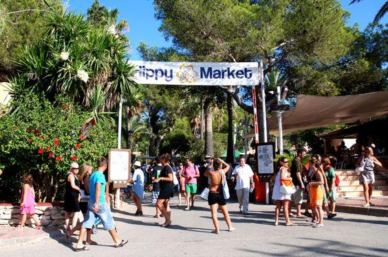 Mercadillo hippie de Punta Arabí, Ibiza in Santa Eulalia del Río, Islas Baleares
