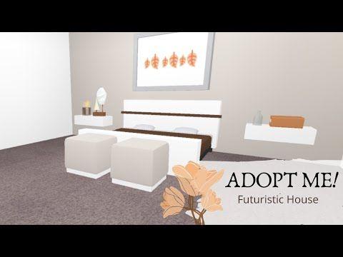 Adopt Me Futuristic House Speed Build Aesthetic Youtube Futuristic Home Cute Room Ideas Aesthetic Room Decor