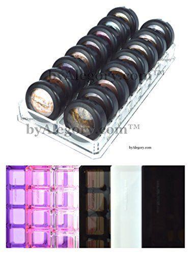 Acrylic Eye Shadow Organizer  Beauty Care Holder 16 Space Storage byAlegoryTM (Clear)  Price : $19.99 http://www.byalegory.com/Acrylic-Shadow-Organizer-Storage-byAlegoryTM/dp/B00MW3JVYE