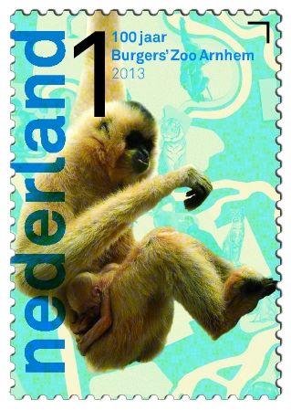 100 jaar Burgers' Zoo Goudwanggibbon http://collectclub.postnl.nl/pages/detail/s1/10220000001790-2-21010000000080.aspx