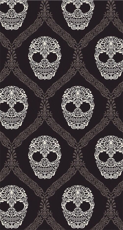 iphone wallpapers skulls and wallpapers on pinterest. Black Bedroom Furniture Sets. Home Design Ideas