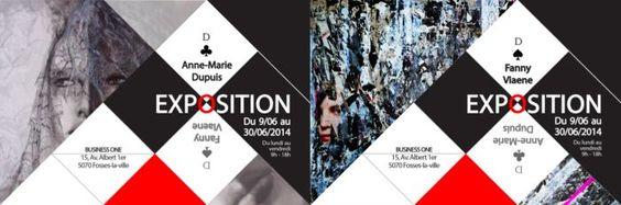06/06/2014 Vernissage exposition des artistes Anne-Marie Dupuis et Fanny Viaene