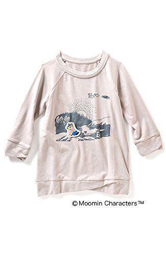 Amazon.co.jp: ムーミンたちの冒険ブローチ付きトップス(おしゃまさん): 服&ファッション小物通販