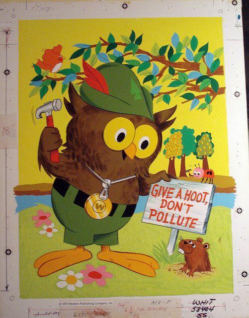 Woodsy Owl says