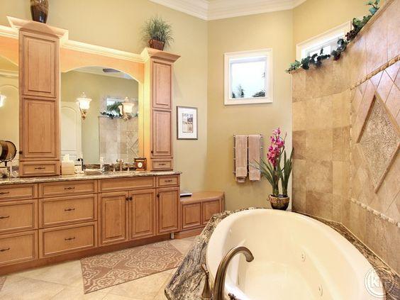 Luxury Master Bath, Towel Warmers, Soaking Tub with Jets | Il Regalo |  North Naples, Florida